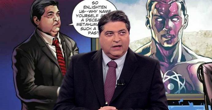Famoso por apresentar o jornalistico Brasil Urgente, José Luiz Datena vai aparecer no mais recente quadrinho da DC. Saiba mais.