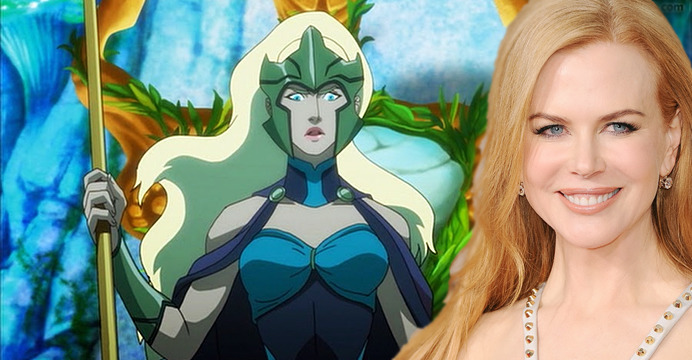 Nicole Kidman é a mais nova integrante do futuro longa-metragem de Aquaman, dirigido por James Wan. Muito animada relatou detalhes ao Entertainment Weekly.
