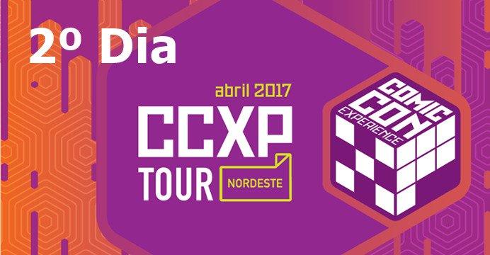 O segundo dia do CCXP Tour Nordeste terá dois dos seus primeiros destaques internacionais. Programe-se para aproveitar ao máximo o evento.