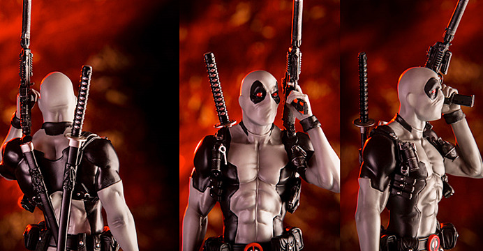 A CCXP Tour Nordeste trará muitas novidades. Entre elas está o colecionável exclusivo de Deadpool, da Iron Studios. Confira.