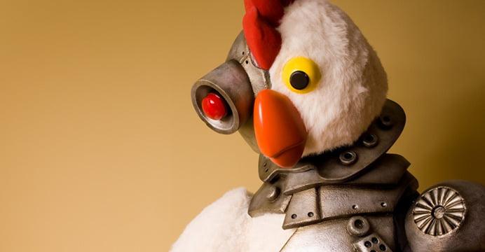 Frango Robô, originalmente Robot Chicken nos Estados Unidos, é uma animação que ganhou notoriedade no quadro Adult Swim aqui no Brasil. Você tem que ver!