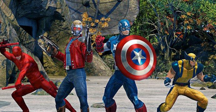 Após Guardiões da Galáxia e o recente Homem-Aranha, a Marvel trouxe seu arsenal em peso para o mais novo titulo a ser lançado para os games. Conheça.