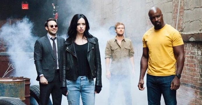 A Netflix divulgou posteres animados, os quais podem ser encontrados no Twitter, de sua série exclusiva, Os Defensores. Confira!
