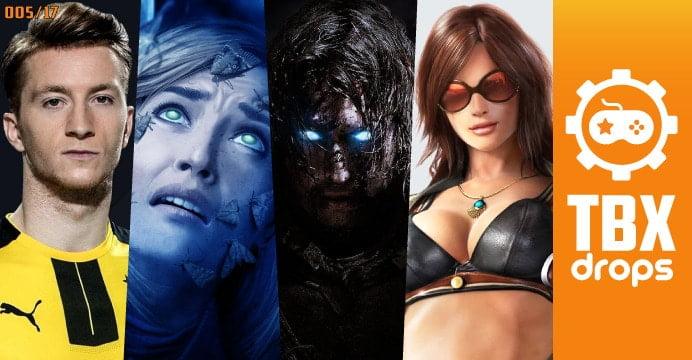 Seja muito bem vindo à 5ª edição do TBX Drops, todo sábado trazendo pra você os principais acontecimentos da semana no mundo dos games.