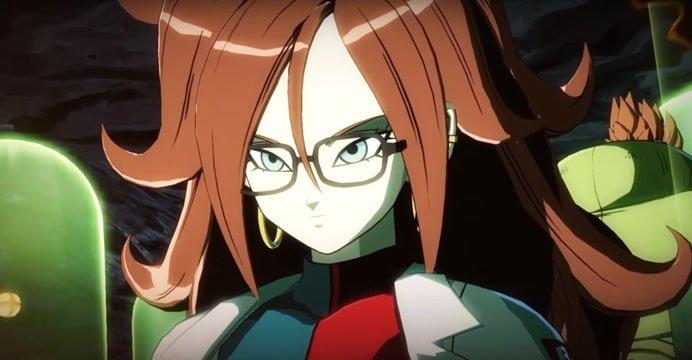 A Bandai revelou mais detalhes da personagem original Androide 21 que fará parte do game Dragon Ball FighterZ. Confira o novo teaser.