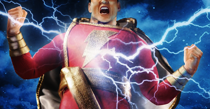 Zachary Levi interpretará Shazam nos cinemas