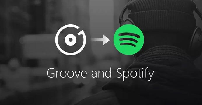 Groove Music será encerrado e substituído pelo Spotify