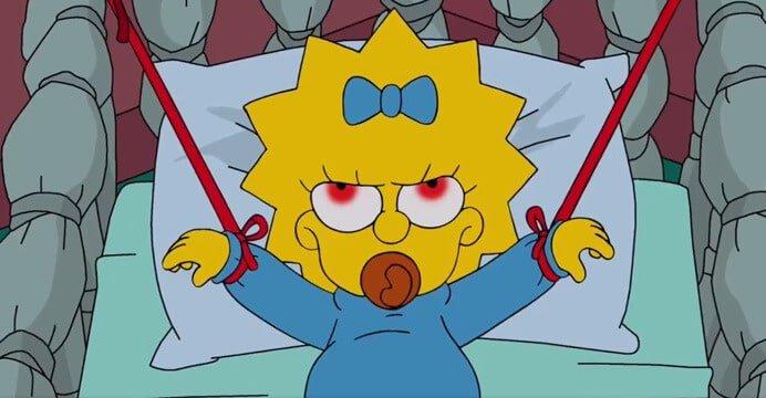 Episódio especial de Halloween de Os Simpsons.
