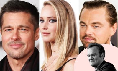 Charles Manson | Tarantino quer Leonardo DiCaprio, Jennifer Lawrence e Brad Pitt em novo filme