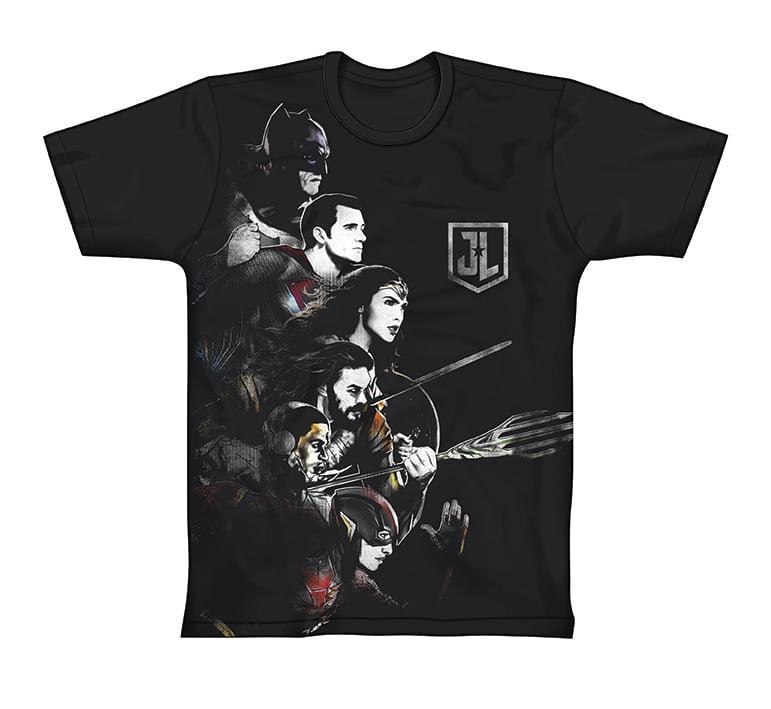Piticas lança novas camisetas inspiradas no filme Liga da Justiça