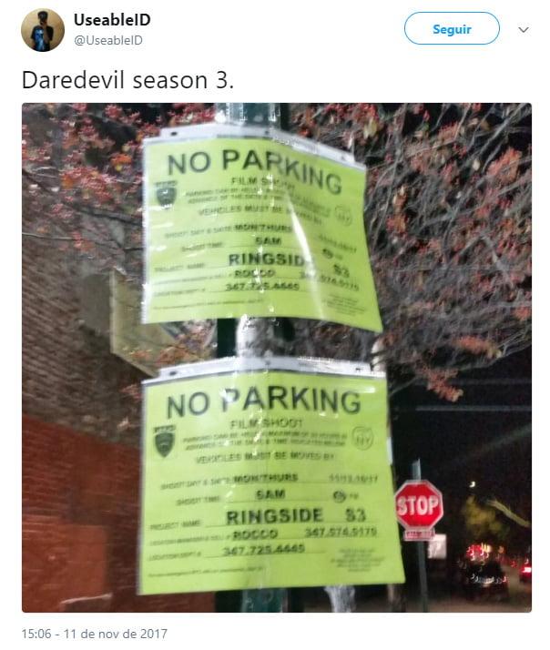 3ª temporada da série Demolidor tem filmagens iniciadas