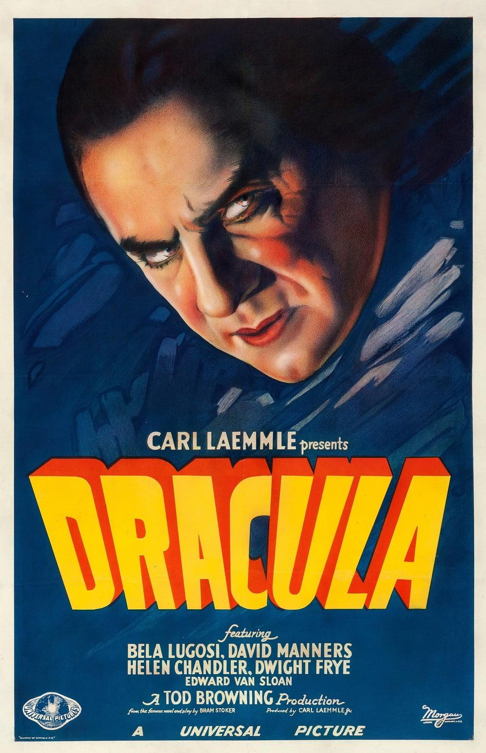 Drácula | Poster de filme clássico é leiloado por meio milhão de dólares.