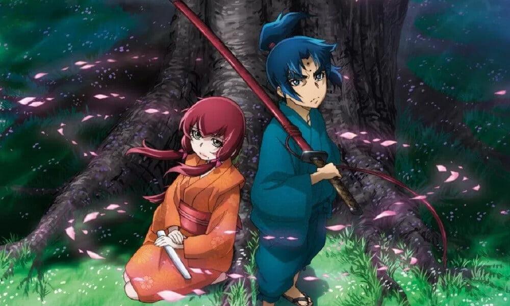 Anime spin-off de Basilisk tem seu primeiro trailer divulgado