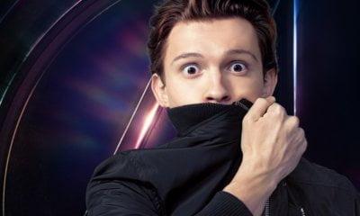 Tom Holland divulga o primeiro pôster de Vingadores: Guerra Infinita