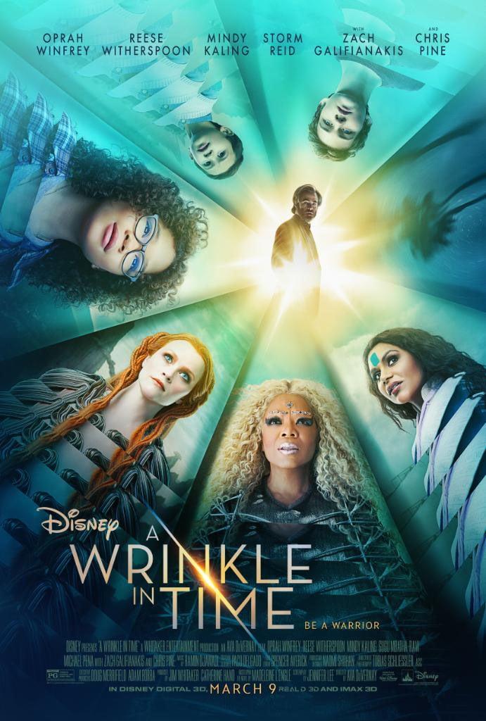 Disney revela o primeiro poster do filme Uma Dobra no Tempo