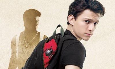 Tom Holland divulga primeiro vídeo de preparo para Uncharted, o filme