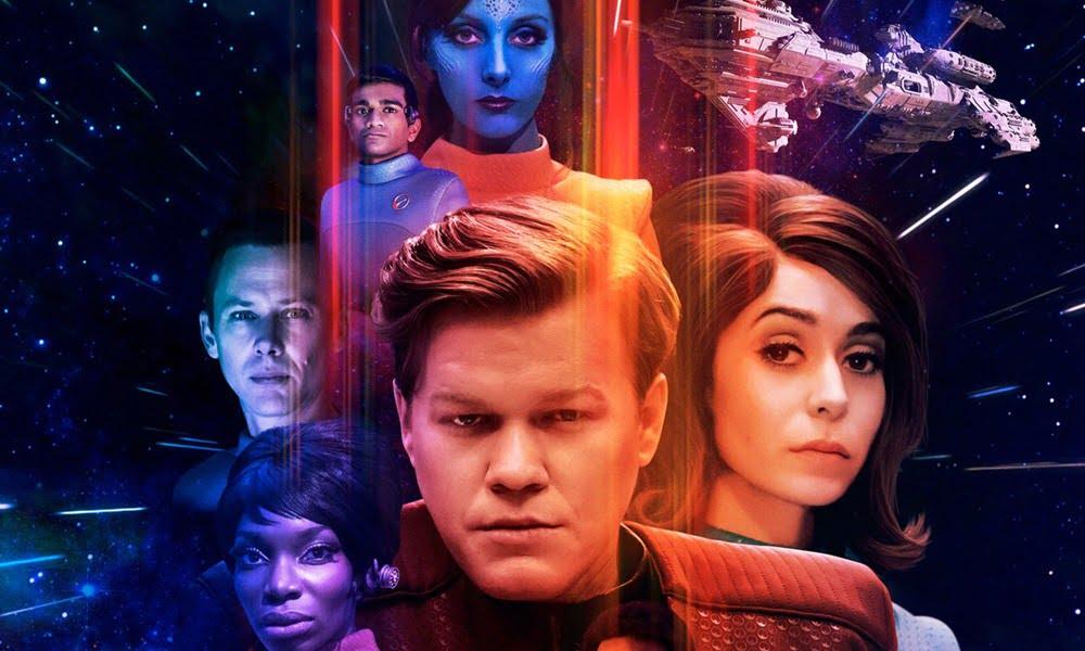 U.S.S. Callister   Inspirado em Star Trek, Black Mirror ganha pôster para episódio da 4ª temporada