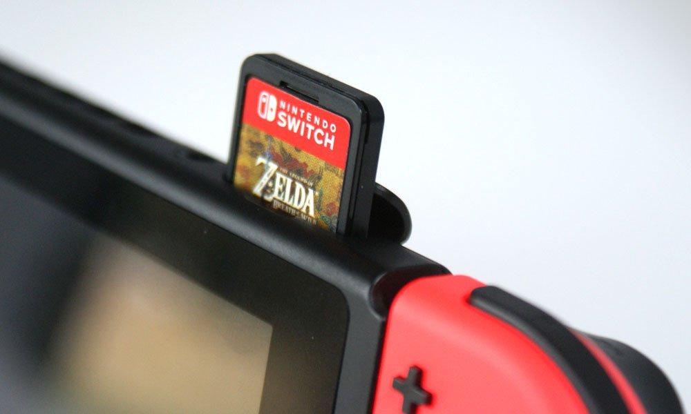 Cartões de jogos do Nintendo Switch com 64GB chegam apenas em 2019