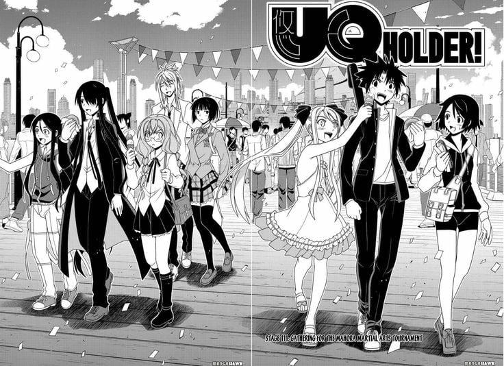 UQ Holder!: Mahou Sensei Negima 2, nostalgia e porradaria na dose certa
