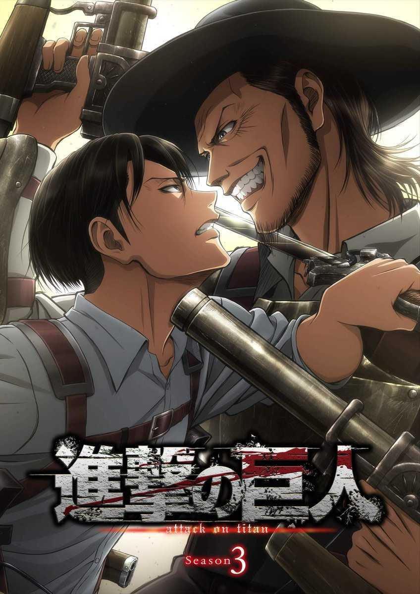 Nova imagem promocional da 3ª temporada de Attack on Titan (Shingeki no Kyojin) revela a presença de Kenny Ackerman na trama.