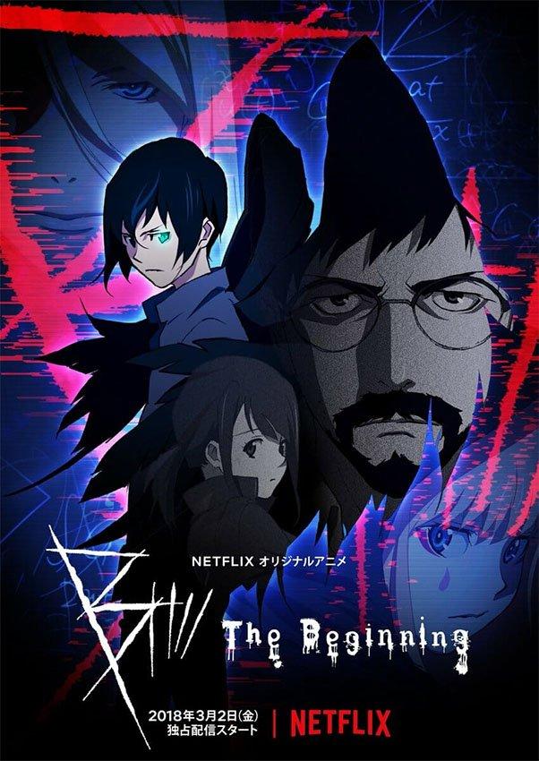 Netflix libera misterioso trailer do novo anime original B: The Beginning