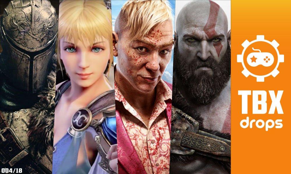 TBX Drops   As principais notícias da semana sobre o mundo dos games