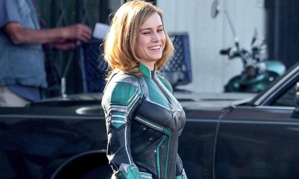 Capitã Marvel | Vídeo do set de filmagens vaza na internet