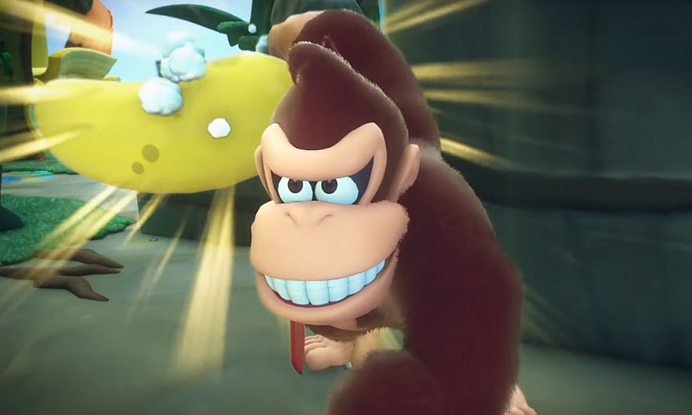A Nintendo e a Ubisoft revelaram DLC inclui Donkey Kong no game Mario + Rabbids Kingdom Battle