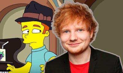 Ed Sheeran aparecerá em episódio de Os Simpsons. Confira o teaser