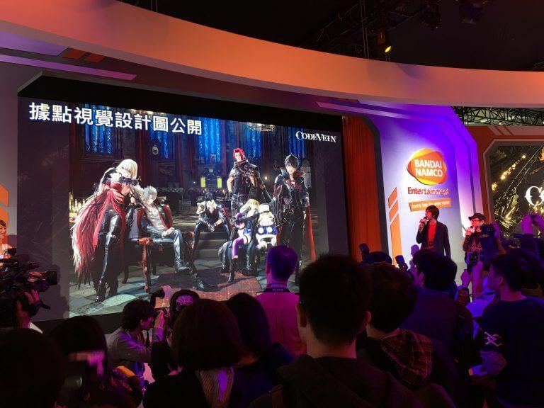Code Vein foi um dos destaques da Taipei Game Show 2018