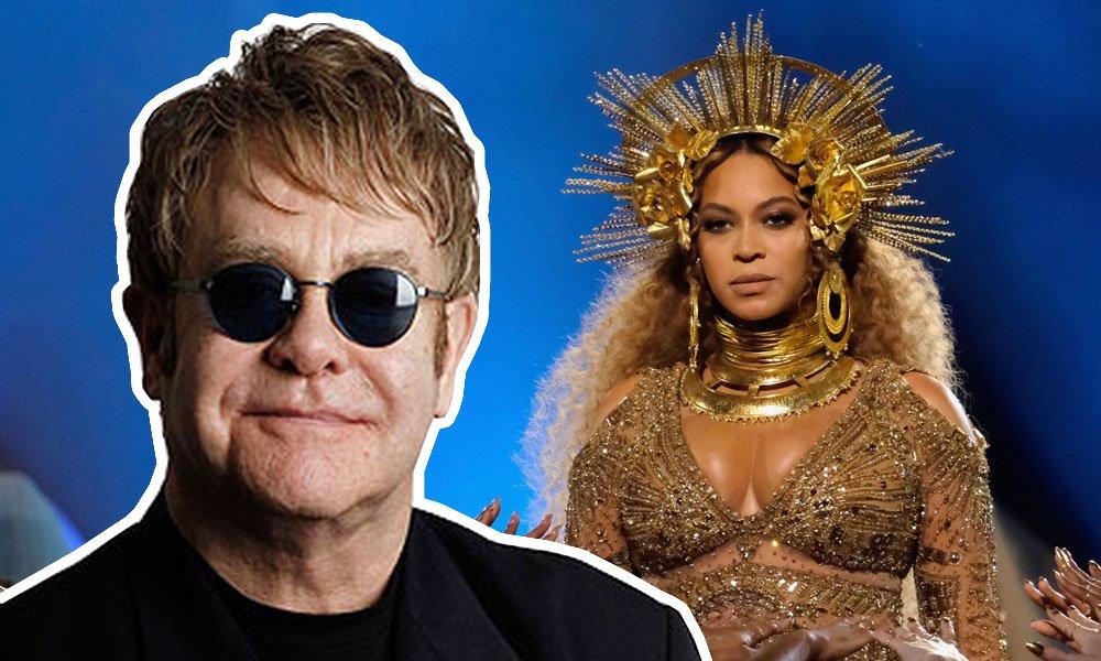 Elton John escreverá música para Beyoncé no live-action O Rei Leão