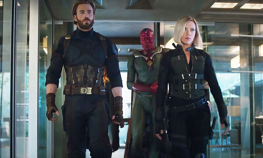 Comercial legendados de Vingadores: Guerra Infinita revela novo escudo do Capitão América