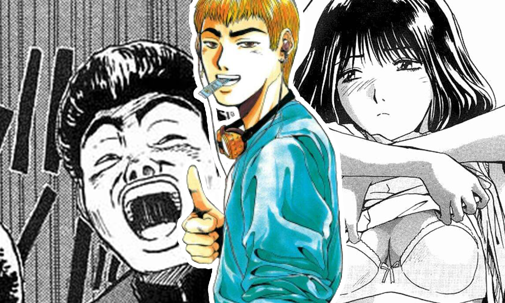 Review TBX   GTO: Um mangá para gente grande