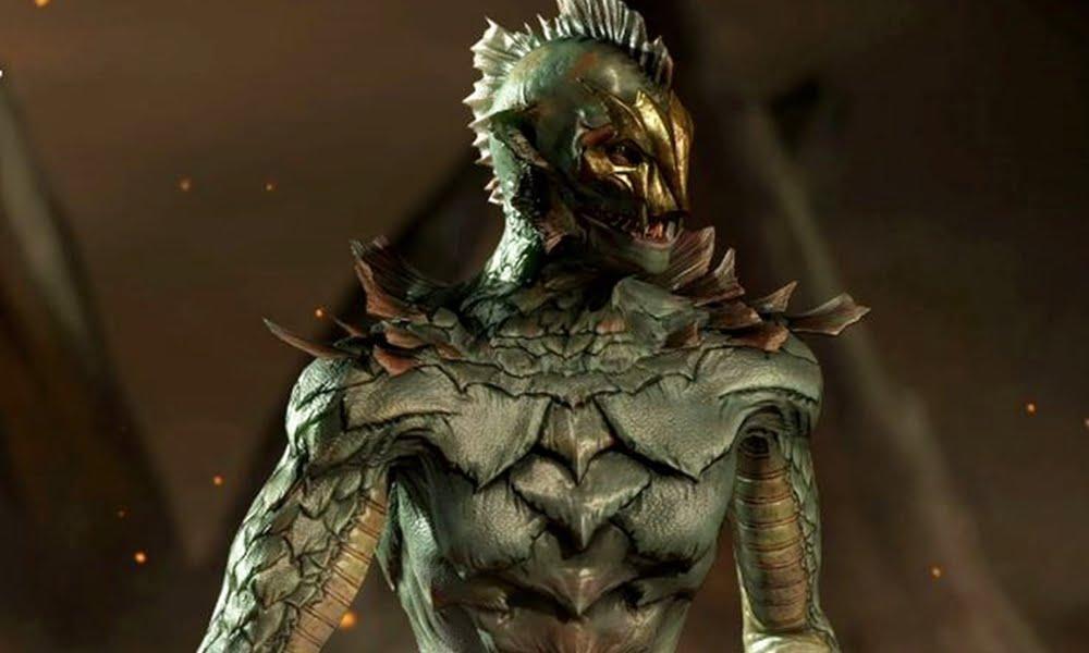 Ed Boon recria visual de Reptile, de Mortal Kombat, em referência ao filme A Forma da Água