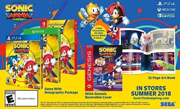 Sonic Mania Plus | Nova versão do game trará 2 novos personagens