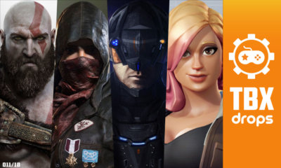 TBX Drops   As notícias mais importantes da semana sobre games