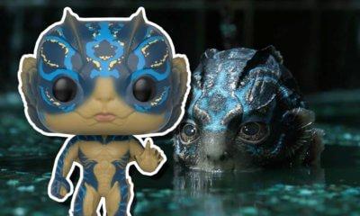 Funko lançará figuras POP! do filme A Forma da Água