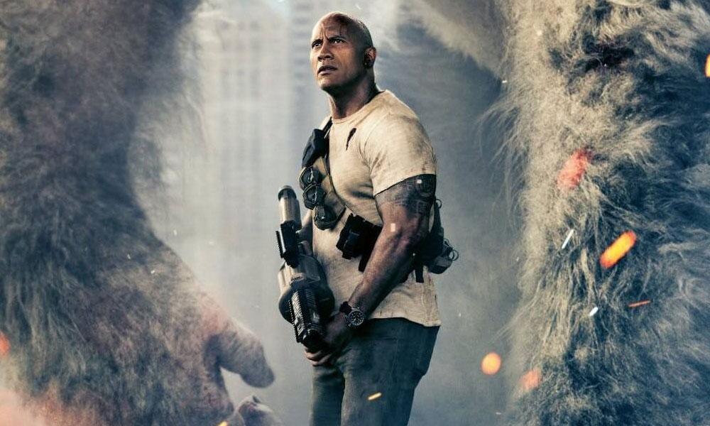 Rampage   Dwayne Johnson afirma não temer a maldição dos games no cinema