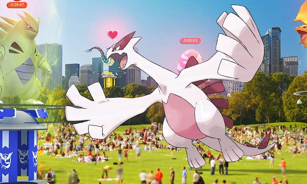 Lugia Shiny já pode ser capturado em Pokémon GO