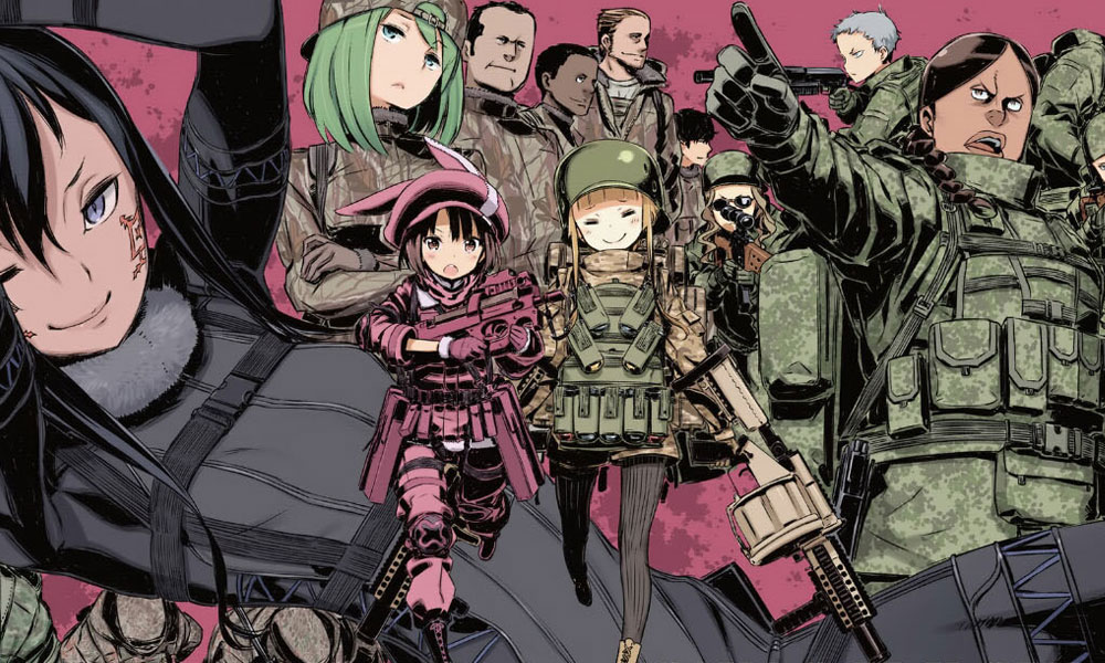 Sword Art Online Alternative: Gun Gale Online será transmitido simultaneamente pelo Crunchyroll