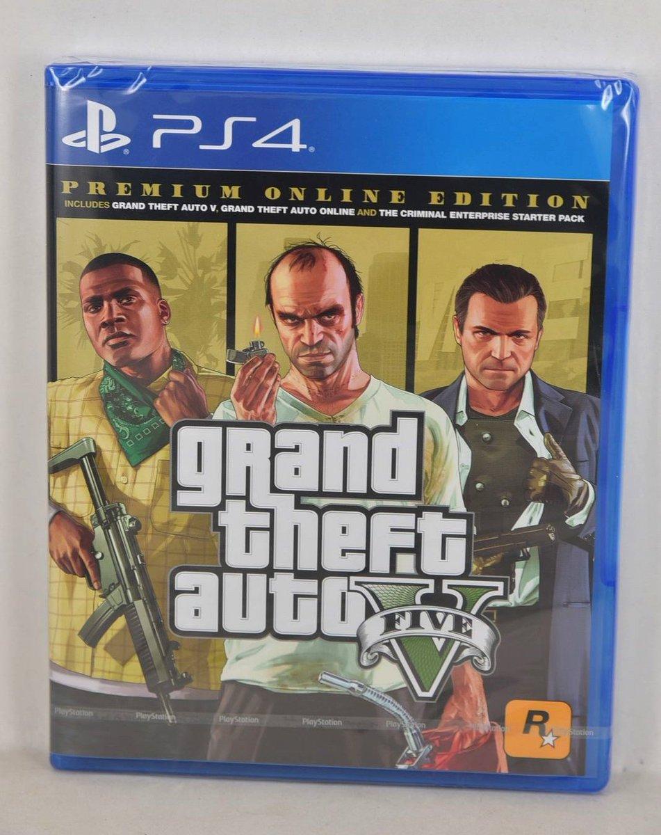 GTA V Premium Edition é confirmado e tem arte da capa revelada