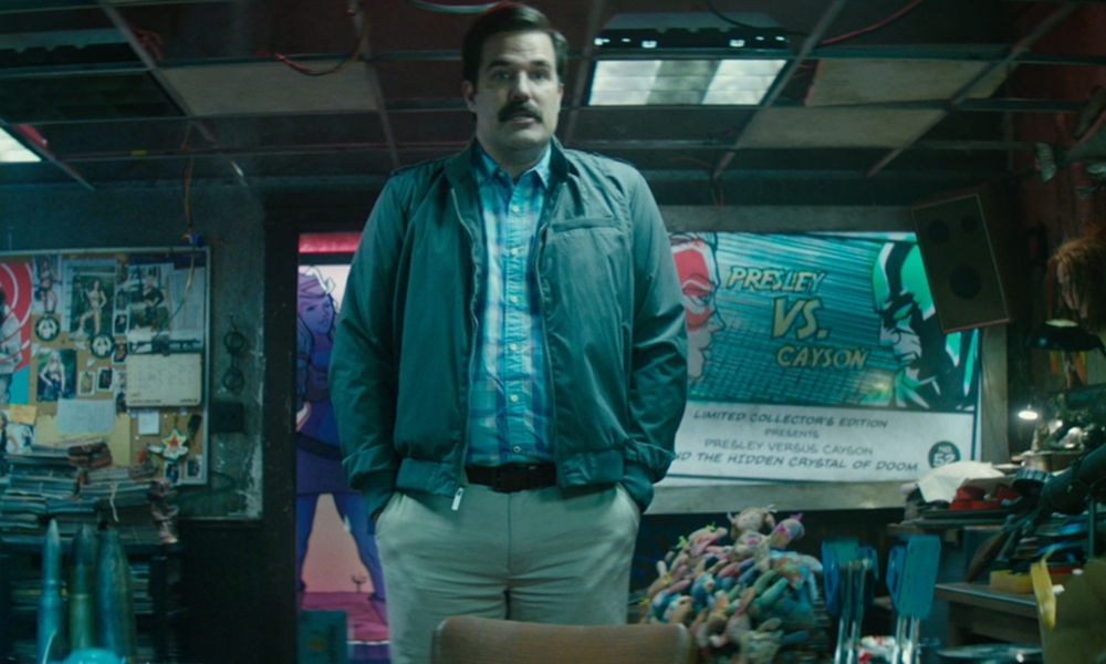 Deadpool 2 | Rob Delaney se veste de seu personagem Peter, da X-Force, para ir à premiere. Confira
