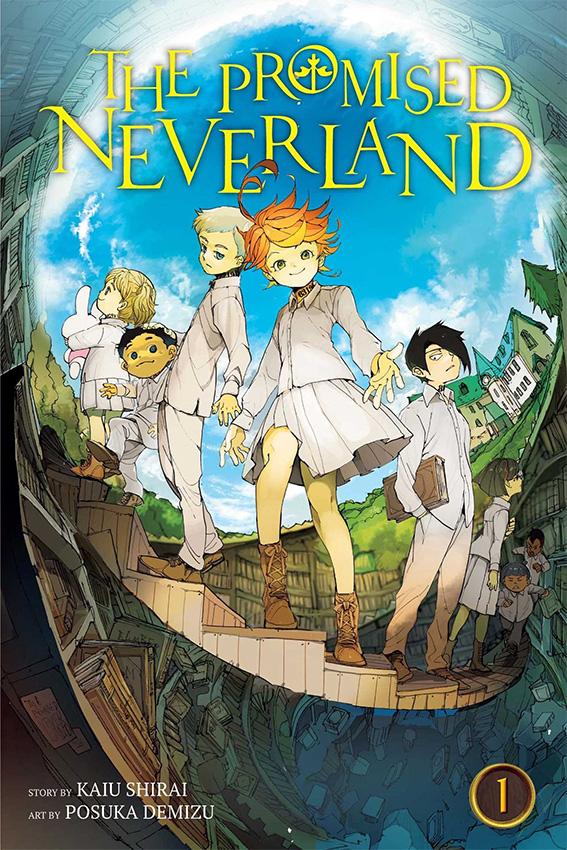 Mangá The Promised Neverland será lançado no Brasil pela Panini