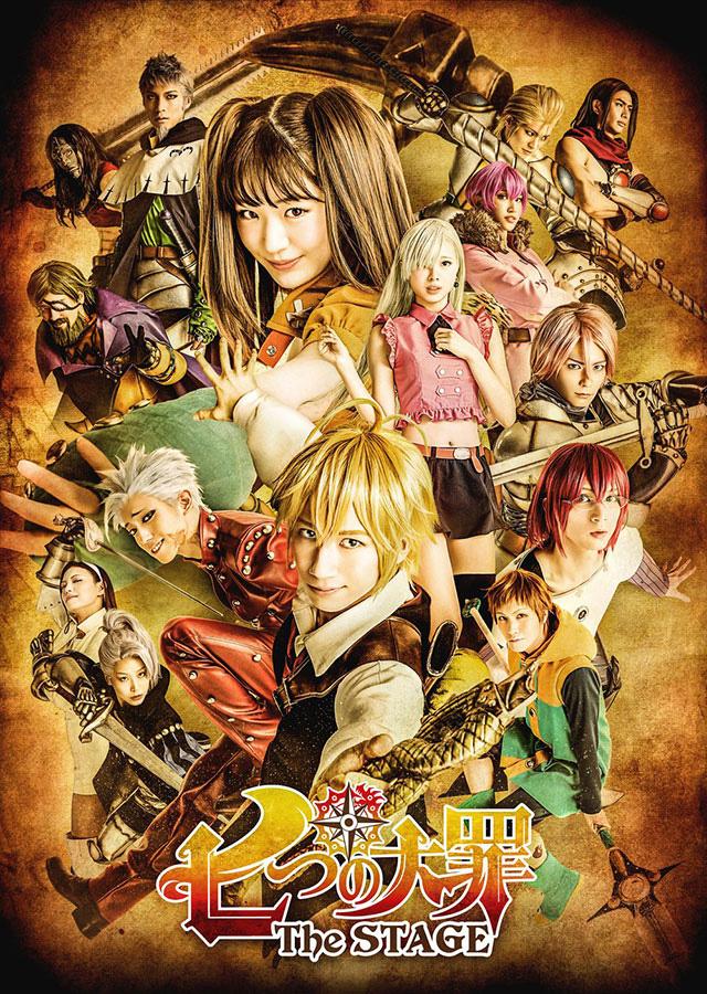 The Seven Deadly Sins | Musical baseado no anime ganha imagem promocional