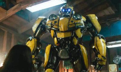 Bumblebee surge em sua forma original em primeiro teaser trailer