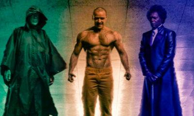 Glass   Poster oficial é revelado e traz os 3 protagonistas