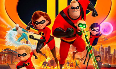 Os Incríveis 2 se torna a maior bilheteria de estreia de uma animação na história