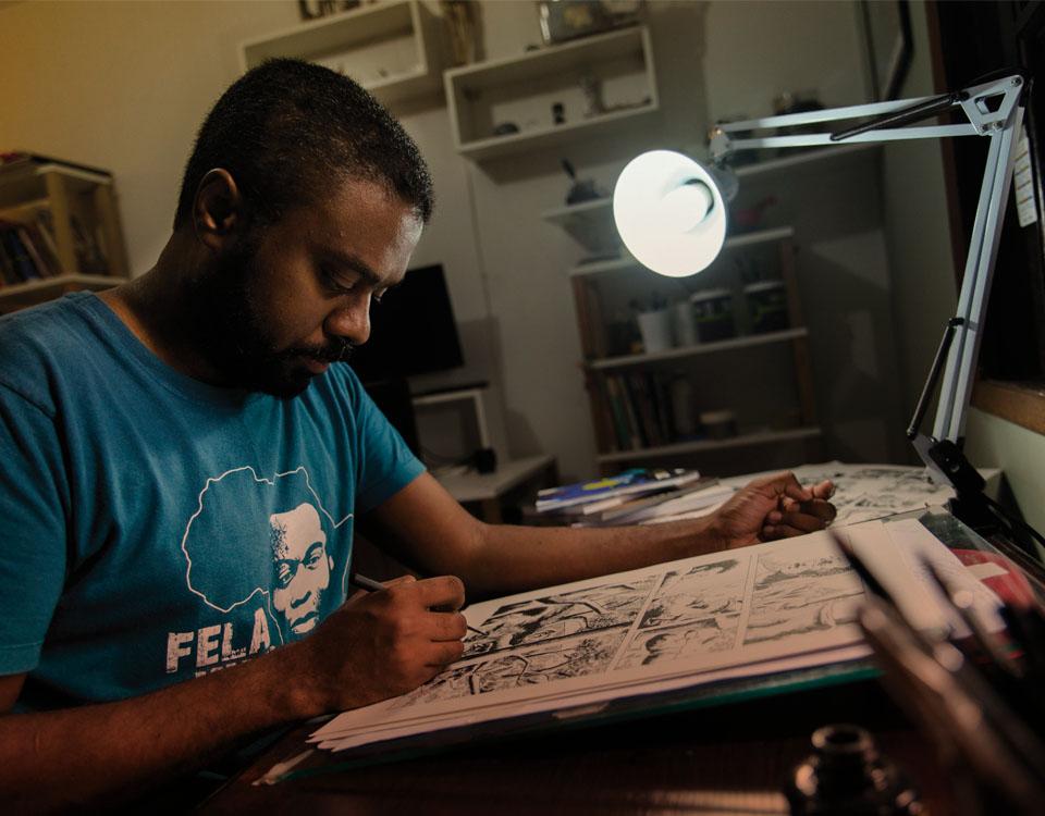 Run For It | Quadrinho do brasileiro Marcelo D'Salete vence o prêmio Eisner