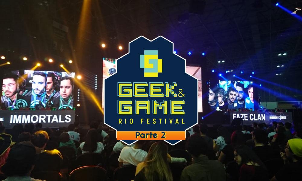 Geek & Game Rio Festival | Os destaques do segundo dia do evento