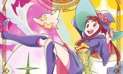 Mangá Little Witch Academia chegará ao fim em agosto no Japão